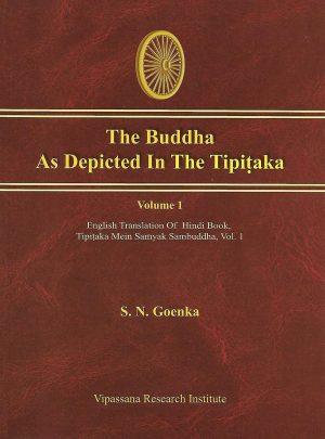 The Buddha As Depicted In The Tipitaka - Volume 1